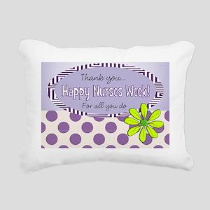 CP happy nurse week 7 Rectangular Canvas Pillow