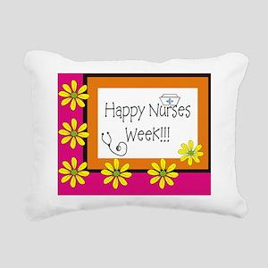 CP happy nurses week 6 Rectangular Canvas Pillow