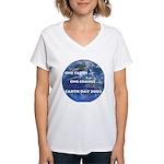 Earth Day 2009 Women's V-Neck T-Shirt