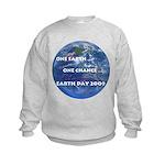 Earth Day 2009 Kids Sweatshirt