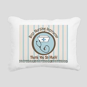 CP nursing instruc 1 Rectangular Canvas Pillow