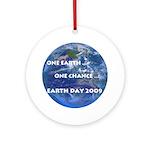 Earth Day 2009 Ornament (Round)
