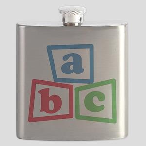 ABC Blocks Flask