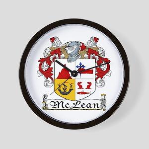 McLean Coat of Arms Wall Clock