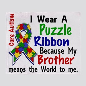D Brother Means The World To Me 2 Au Throw Blanket