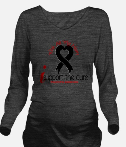 CURE Long Sleeve Maternity T-Shirt