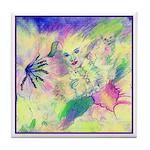 Hidden Fairy Fantasy Art Tile Coaster
