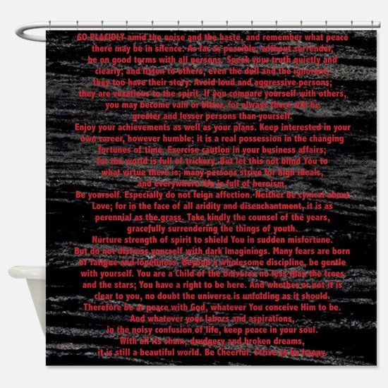 Funny Universe Shower Curtain