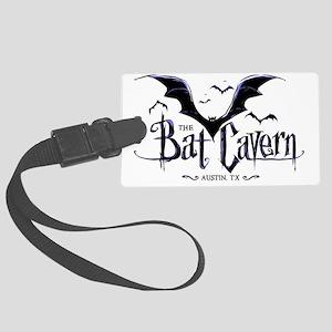 BatCavern_CP Large Luggage Tag