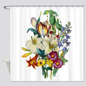 Jean Louis Prevost Tulips and Lili Shower Curtain