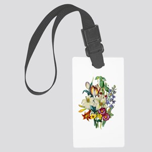 Jean Louis Prevost Tulips and L Large Luggage Tag