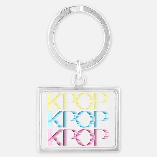 KPOP_rainbow Landscape Keychain