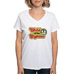 Child of the 80s Women's V-Neck T-Shirt