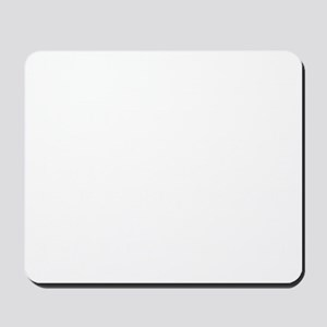JUST FOR TODAY WHITE Mousepad