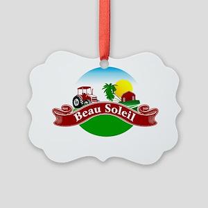 beausoleil  Picture Ornament