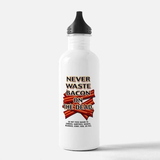 never-waste-bacon-2012 Water Bottle
