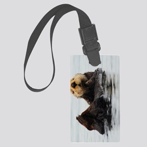 TabletCases_seaotter_1 Large Luggage Tag