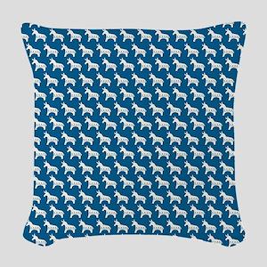 queenduvet - dem Woven Throw Pillow