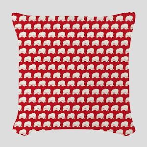 queenduvet - rep Woven Throw Pillow
