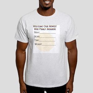 GREETING-CARD-wee-leprechaun-inside Light T-Shirt
