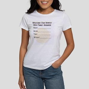 GREETING-CARD-wee-leprechaun-insid Women's T-Shirt