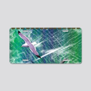 IRISH-SEA-TOILETRY-BAG Aluminum License Plate