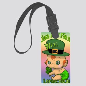 100-THOUSAND-WELCOMES-WEE-LEPREC Large Luggage Tag