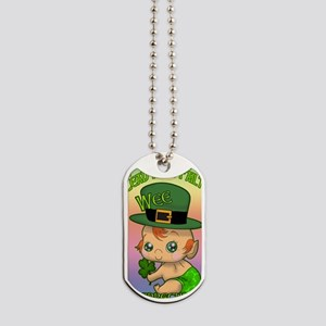 100-THOUSAND-WELCOMES-WEE-LEPRECHAUN-JOUR Dog Tags