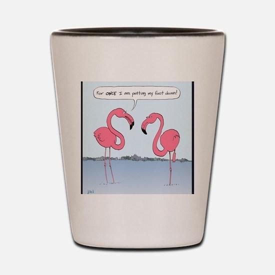 flamingosnook Shot Glass