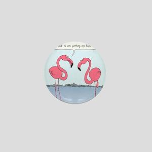 flamingosnook Mini Button