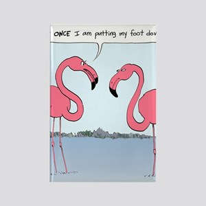 flamingosnook Rectangle Magnet