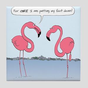 flamingosnook Tile Coaster