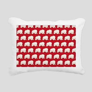 bag - rep Rectangular Canvas Pillow