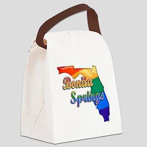 Bonita Springs Canvas Lunch Bag