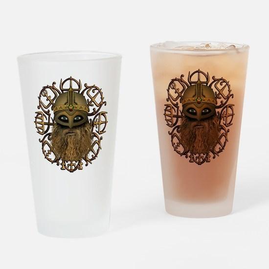 Viking Vegvisir Drinking Glass