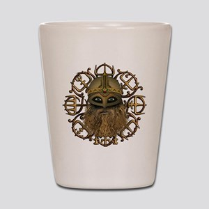 Viking Vegvisir Shot Glass
