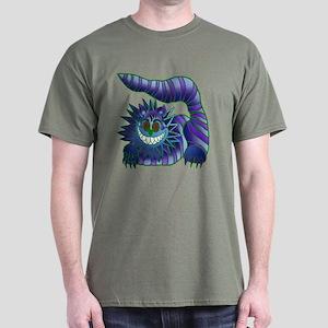 Mad Cheshire Cat Jade Dark T-Shirt