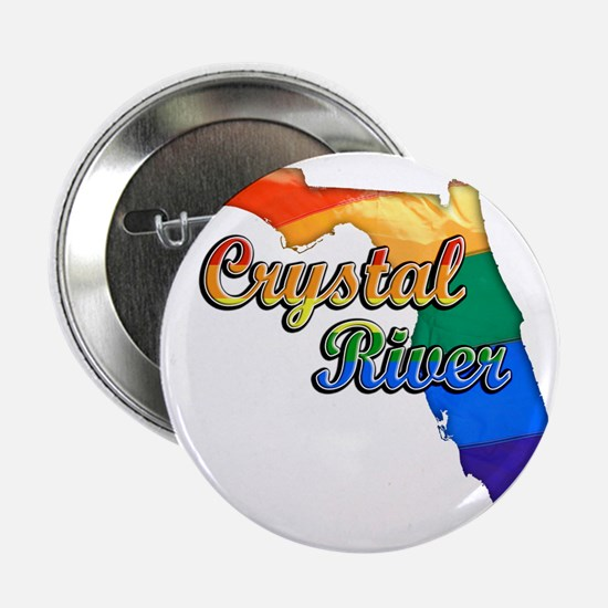 """Crystal River 2.25"""" Button"""