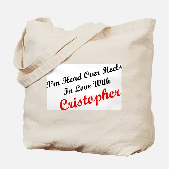In Love with Cristopher Tote Bag