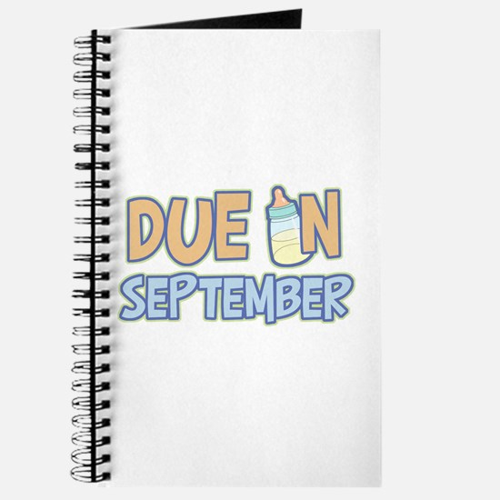 Due in September Boy Journal