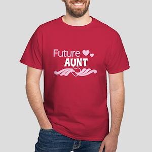 Future Aunt Dark T-Shirt