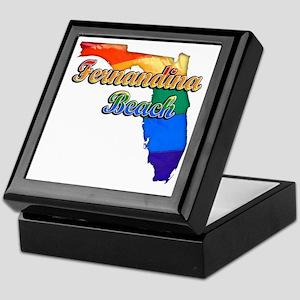 Fernandina Beach Keepsake Box