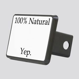 100% Natural Rectangular Hitch Cover