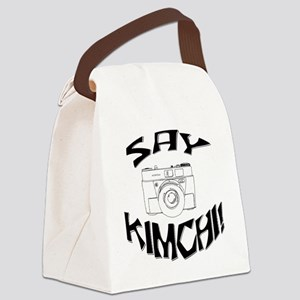 Say Kimchi Canvas Lunch Bag