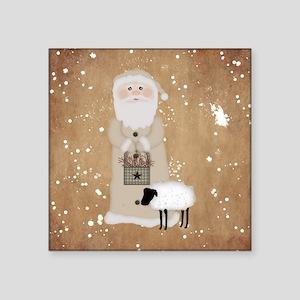 Primitive Santa Sticker