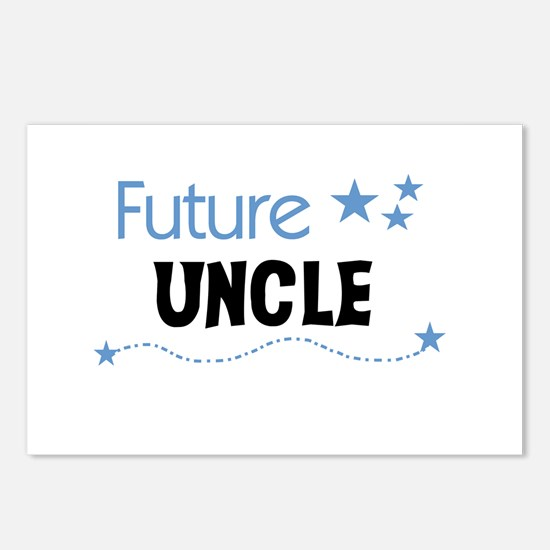 Future Uncle Postcards (Package of 8)