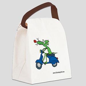 Vespa Rat by Tamara Warren Canvas Lunch Bag