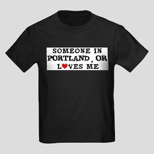 Someone in Portland Ash Grey T-Shirt