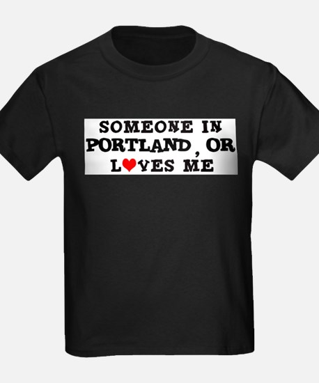 Someone in Portland Ash Grey T-Shirt