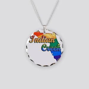 Indian Creek Necklace Circle Charm